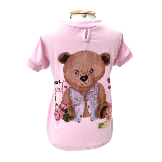 Camiseta Ursinha Love