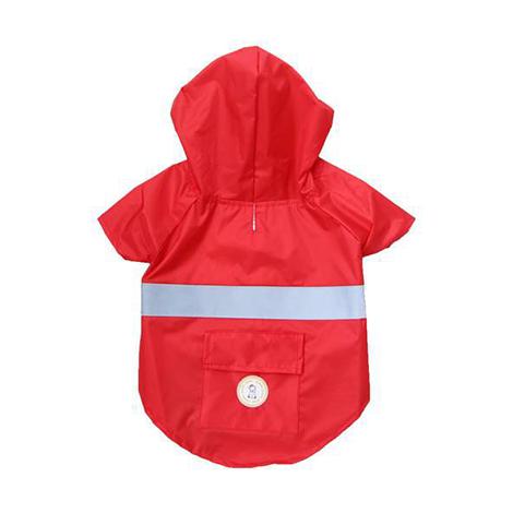 Capa de Chuva Vermelha