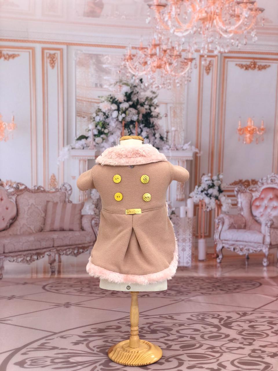 Casaco realeza Rosè