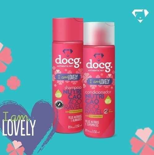 Condicionador Docg | I am lovely 250ml