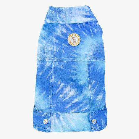 Jaqueta Tie Dye Azul