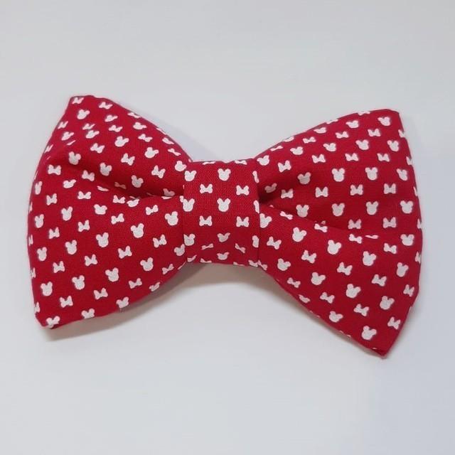 Laçarote/Gravata Minnie Vermelha