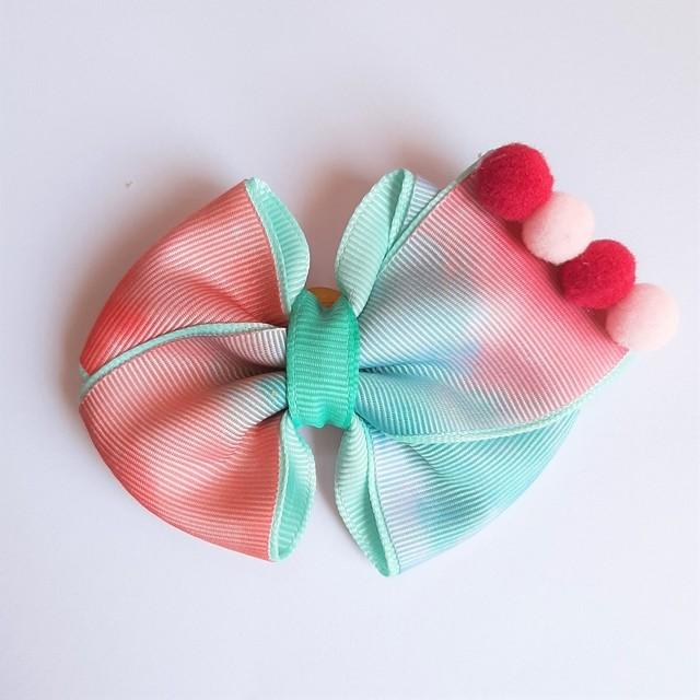 Laço Tie Dye Rosa