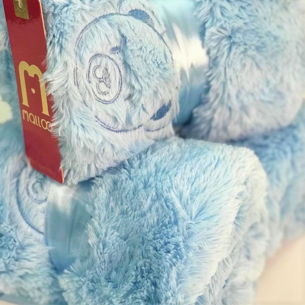 Manta Térmica Azul Bebê