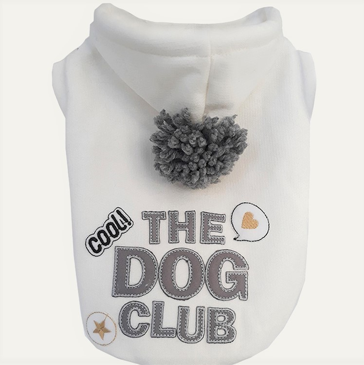 Moletom Dog Club Off White
