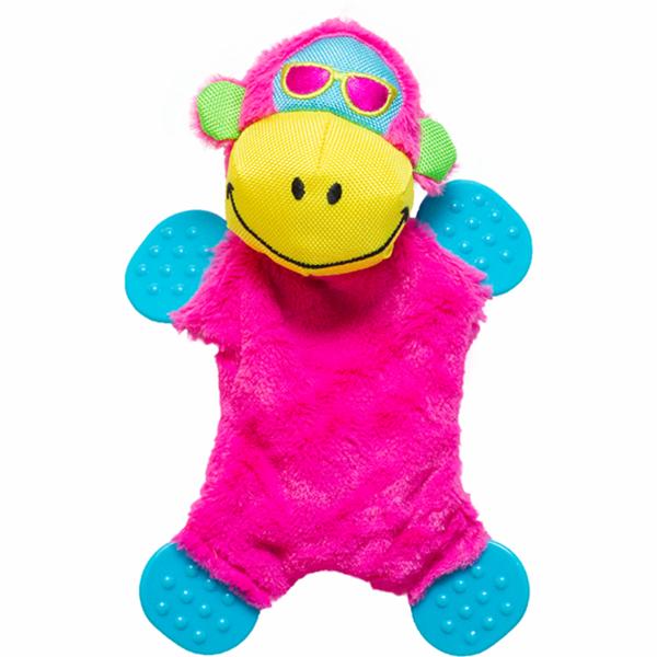 Monkey - Brinquedo de pelúcia para cachorro