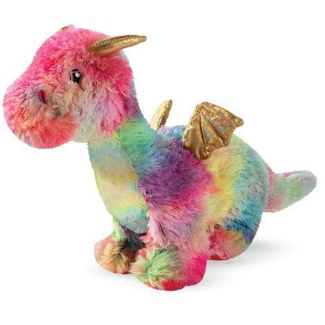 Pelúcia para Cachorro Rainbow Dragon