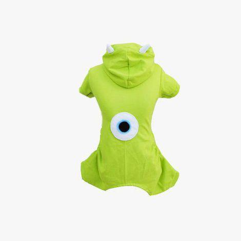 Pijama Macacão Monstro Verde