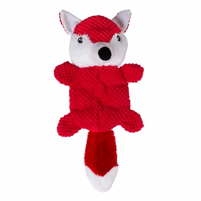 Raposa Antiestresse- Brinquedo de pelúcia para cachorro