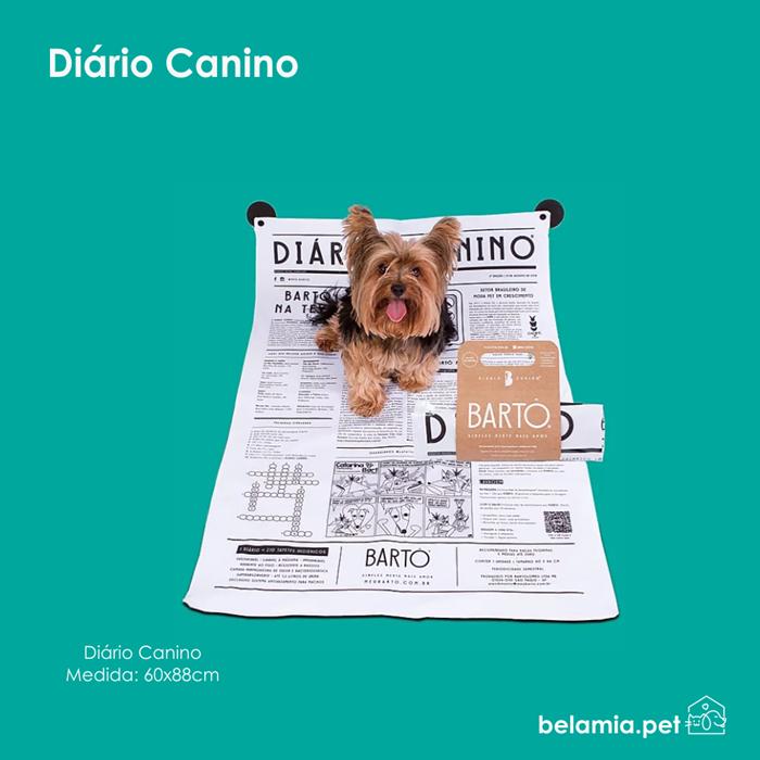 Tapete lavável - Diário Canino Bartô