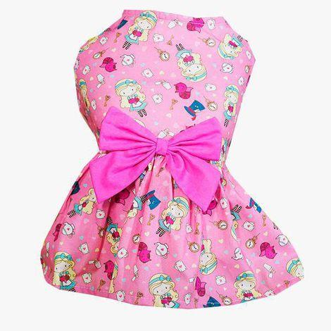 Vestido Alice Rosa Simba