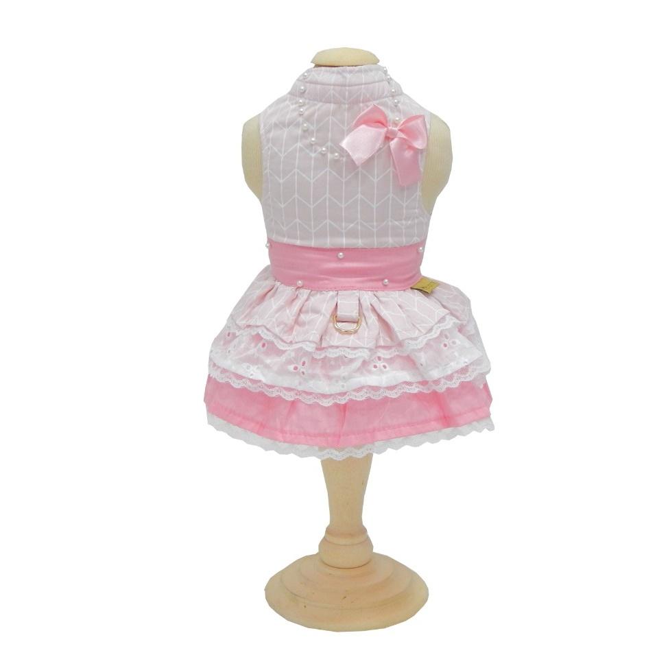 Vestido Baby Pata Chic Monochrome Rosa