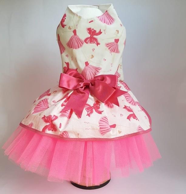 Vestido Bailarina Rosa