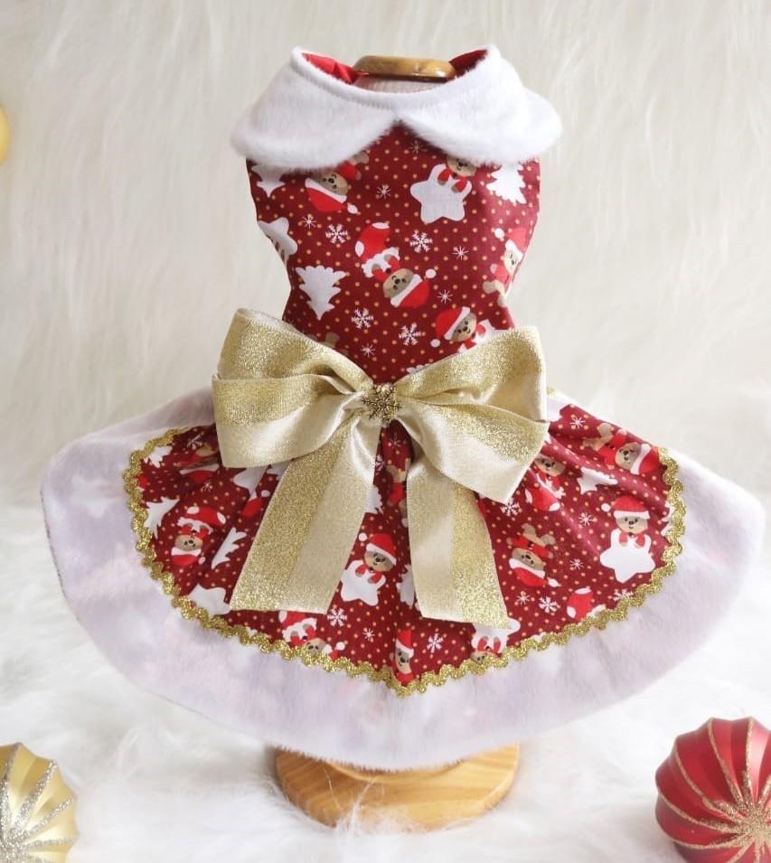 Vestido Clássico de Natal