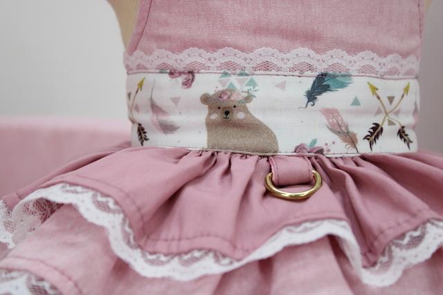 Vestido Pata Chic Sra Ursa
