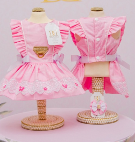 Vestido Doce Infância Rosa