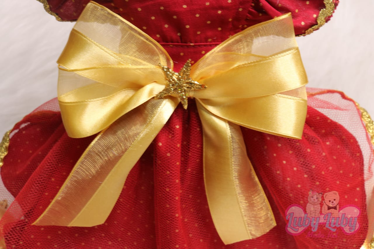 Vestido Estrela de Natal