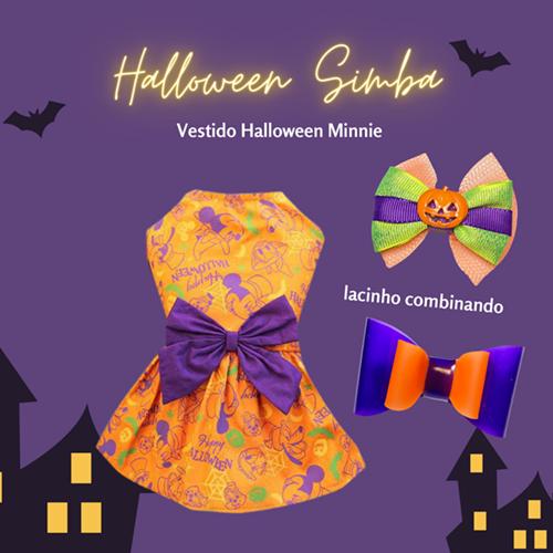 Vestido Halloween Minnie