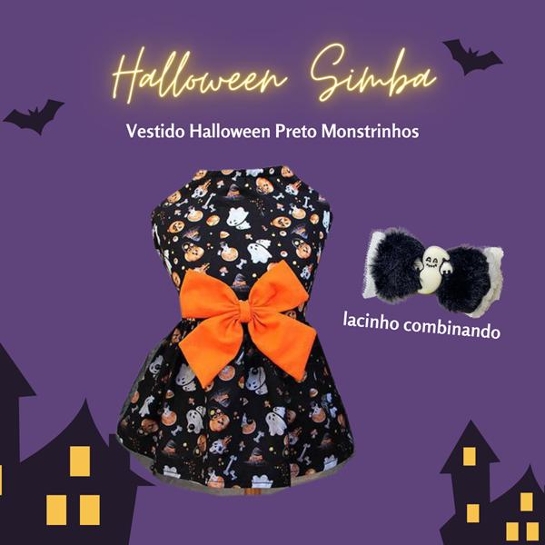 Vestido Halloween Preto