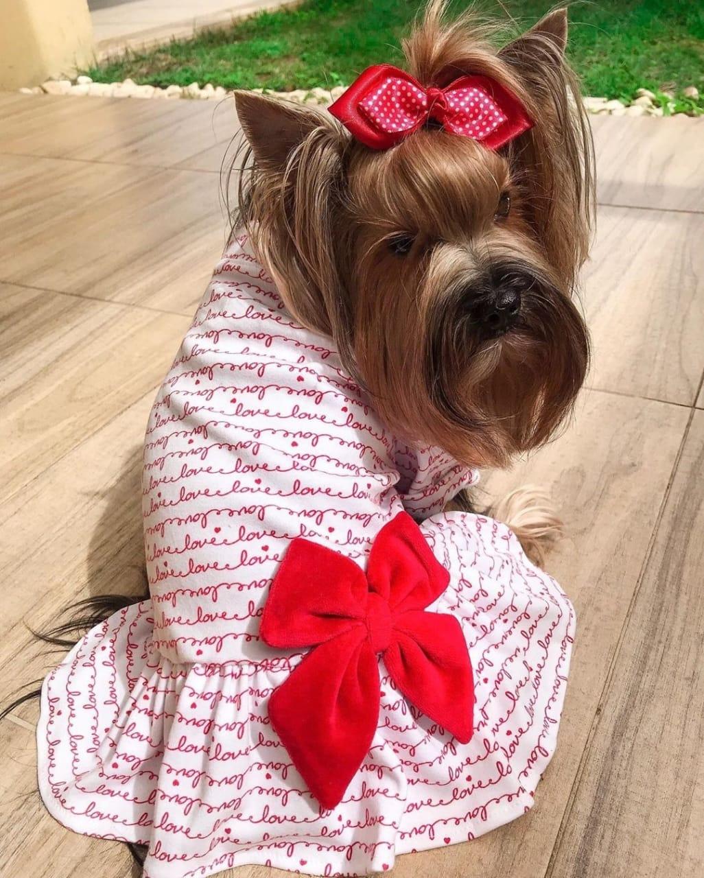 Vestido Malha Love