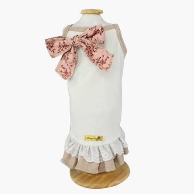 Vestido Mimy Encantê Coração Rosé