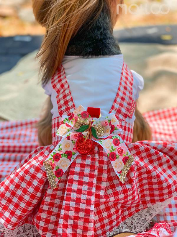 Vestido Miss Pic Nic - Cerejinha