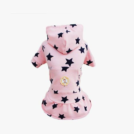 Vestido Moletom Estrela