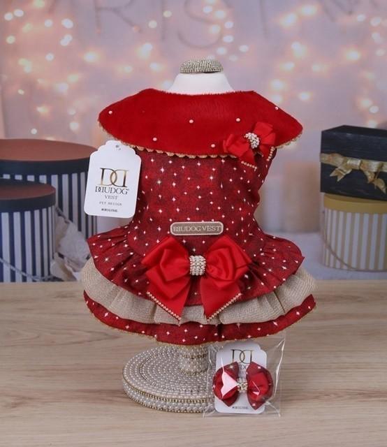 Vestido Natal Vermelho