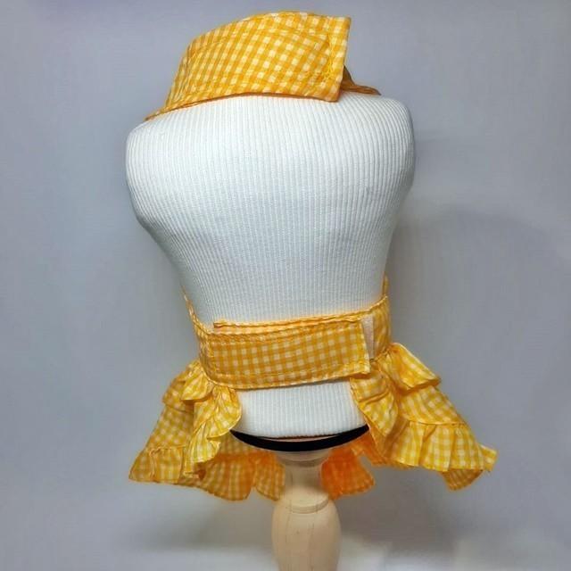 Vestido Xadrez Amarelo