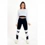 Conjunto Feminino Fitness Calça Legging e Top Dry Branco