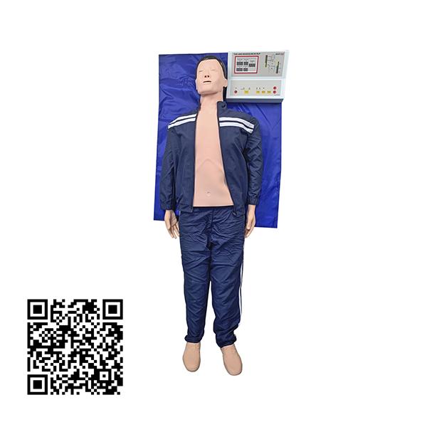 Manequim Adulto, Simulador para Treino de RCP com Dispositivo de Armazenamento de Dados e Impressora