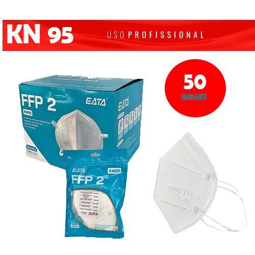 Máscara de Proteção KN95 PFF2 (Kit com 50 unidades