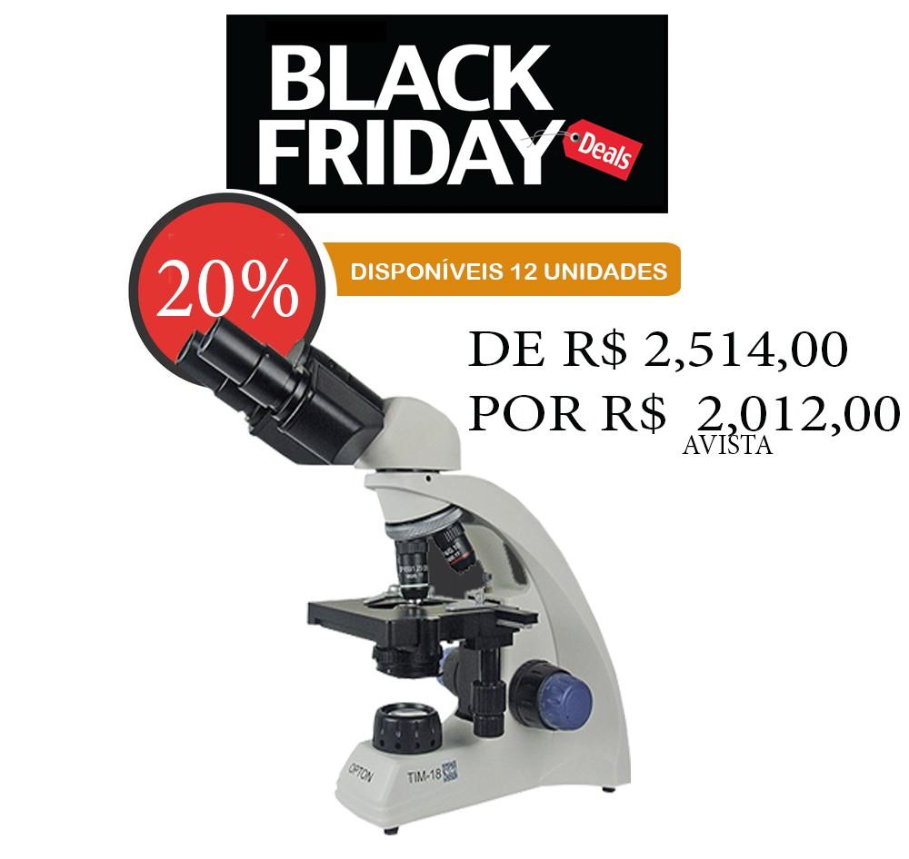 Microscópio Biológico Binocular com Ampliação de 40x até 1000x (opcional até 2000X), Iluminação LED e Suporte para Bateria Recarregável.