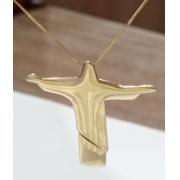 Cordão Feminino com o símbolo do cristo redentor
