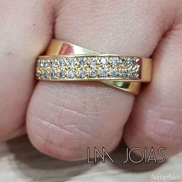 Anel Aparador luxo 085 - A unidade feminina - Pedras sintéticas (zirconias)