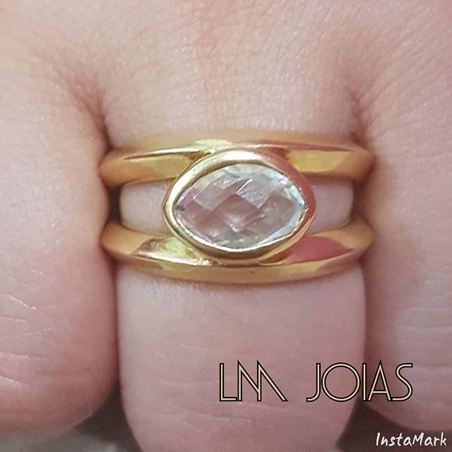 Anel Aparador luxo 088 - A unidade feminina - Pedras sintéticas (zirconias)