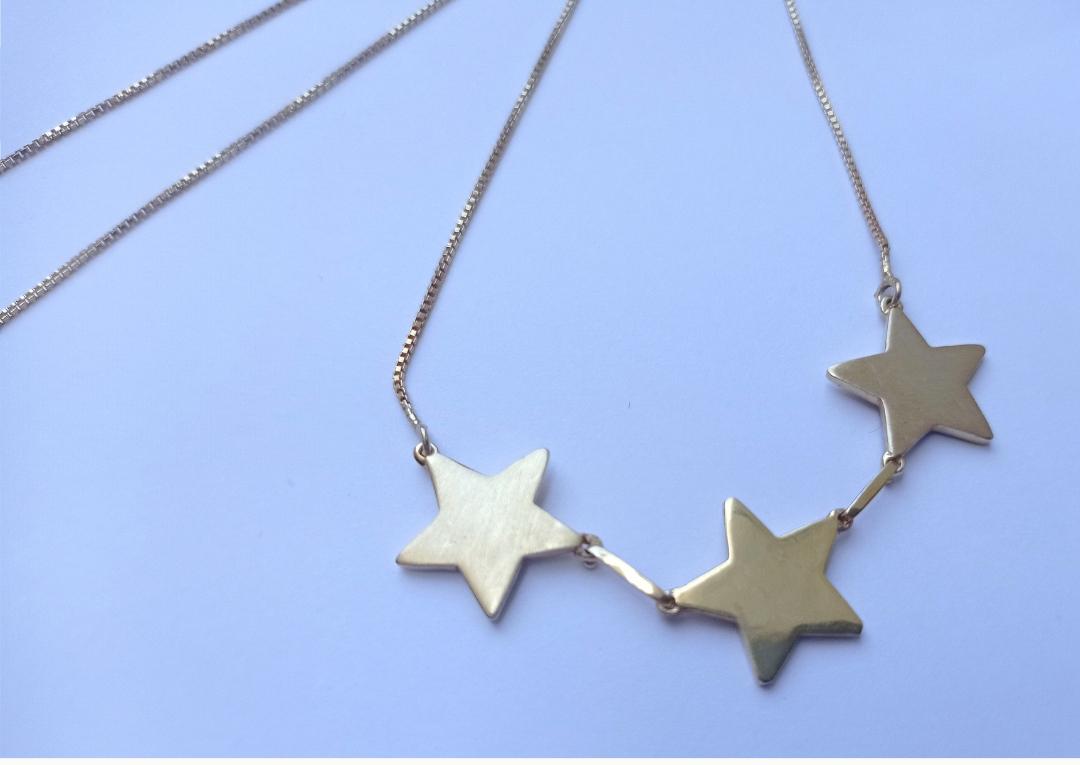 Pingente 3 estrelas