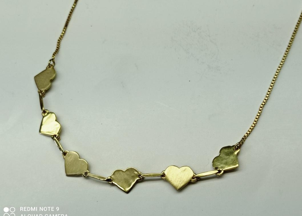 Pingente 6 corações
