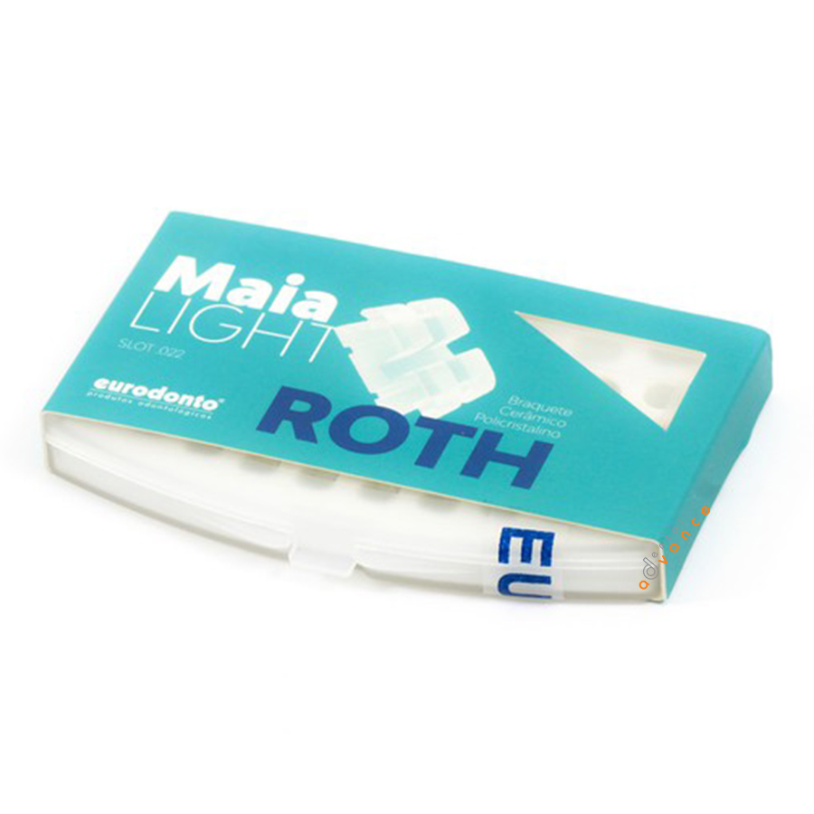 1011-L-C-P Bráquete Maia Light Roth Kit - Eurodonto