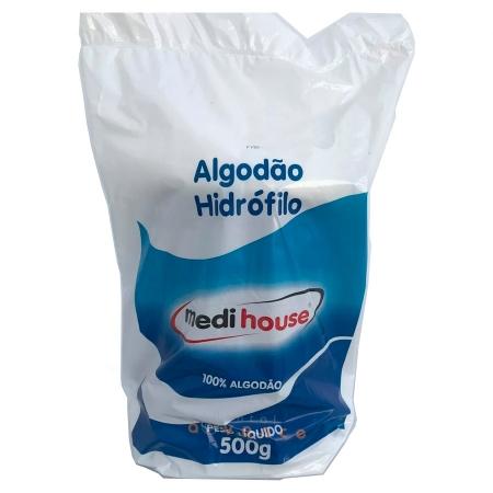Algodão Rolo Hidrofílico 500g - Medihouse