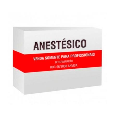 Anestesico Xylestesin 2% com vaso com 50 tubetes - Cristália