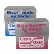 Clean Okta Bicarbonato com 15 Sachê x 40g = 600g