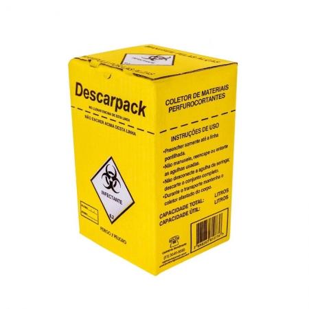 Coletor 1,5Lts - Descarpack
