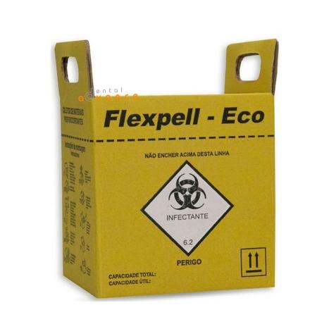 Coletor de Perfurocortante 3 Litros - Flex pell