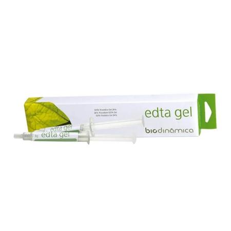 EDTA Trissódico Gel 24% 2 seringas de 3g - Biodinâmica