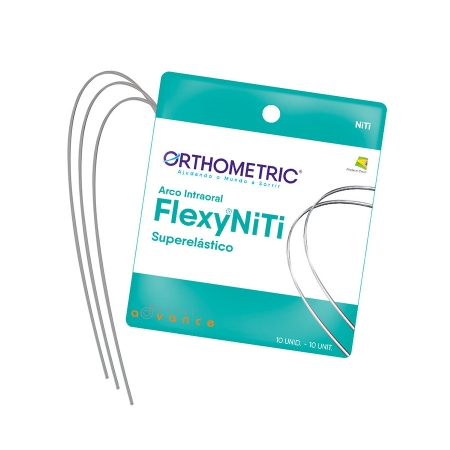 Fio Flexy - superelástico Arco Flexy Niti - Orthometric