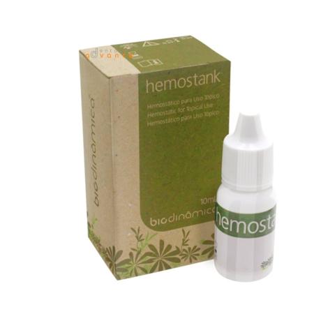 Hemostático Solução Hemostank 10ml - Biodinâmica