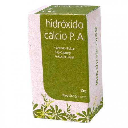 Hidróxido de Cálcio P.A 10g - Biodinâmica