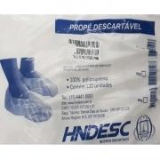 Hndesc Pro pé Descartável 30g Branco com 100 unidades