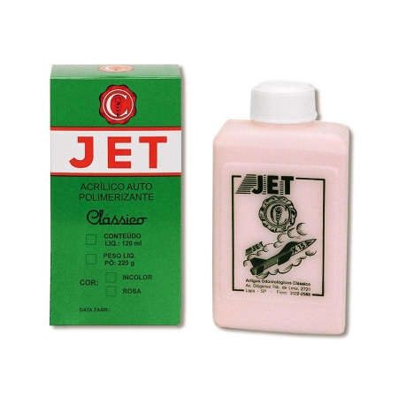 Jet Pó 220g Rosa - Clássico
